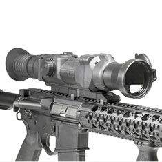 AR-10 semi-automatic rifle