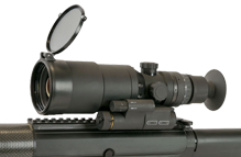 Trijicon Hunter Mark III 60mm - Rifle Mounted